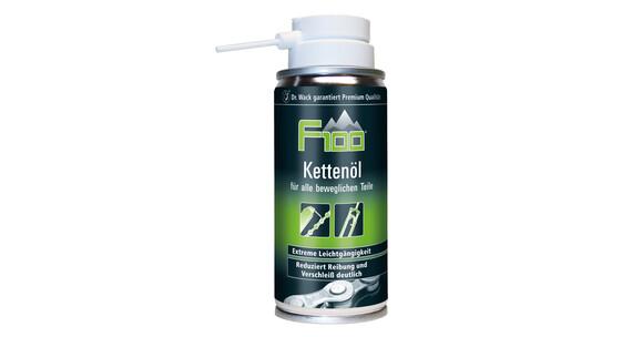F100 Olej łańcuchowy Czyszczenie i konserwacja Spray 100 ml czarny